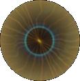 Die Sonne aus dem Kernschatten des Mondes betrachtet