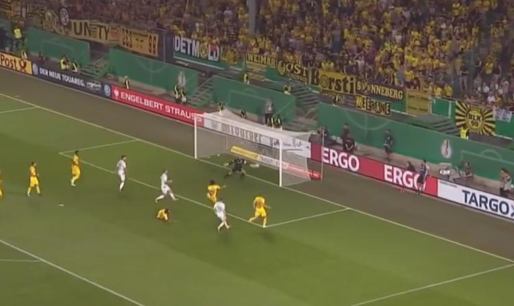 Borussia Dortmund gegen Greuther Fürth