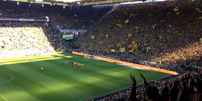Borussia Dortmund gewinnt gegen SV Werder Bremen