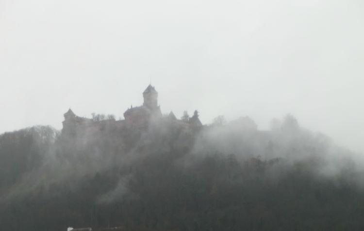 Die mystische Burg am Oberrhein