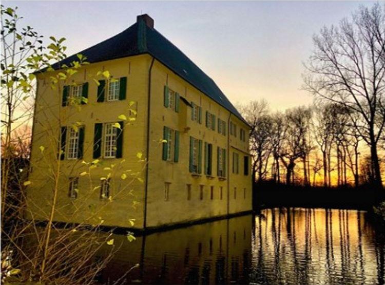 Ein Wasserschloss in Gelsenkirchen