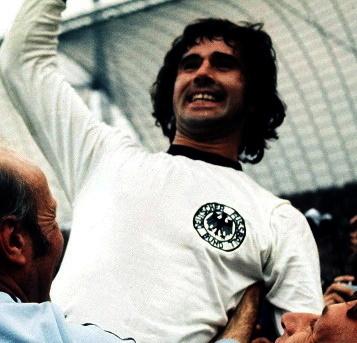 Gerd Müller im Juli 1974